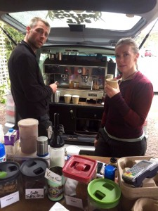 The Coffee Shed van